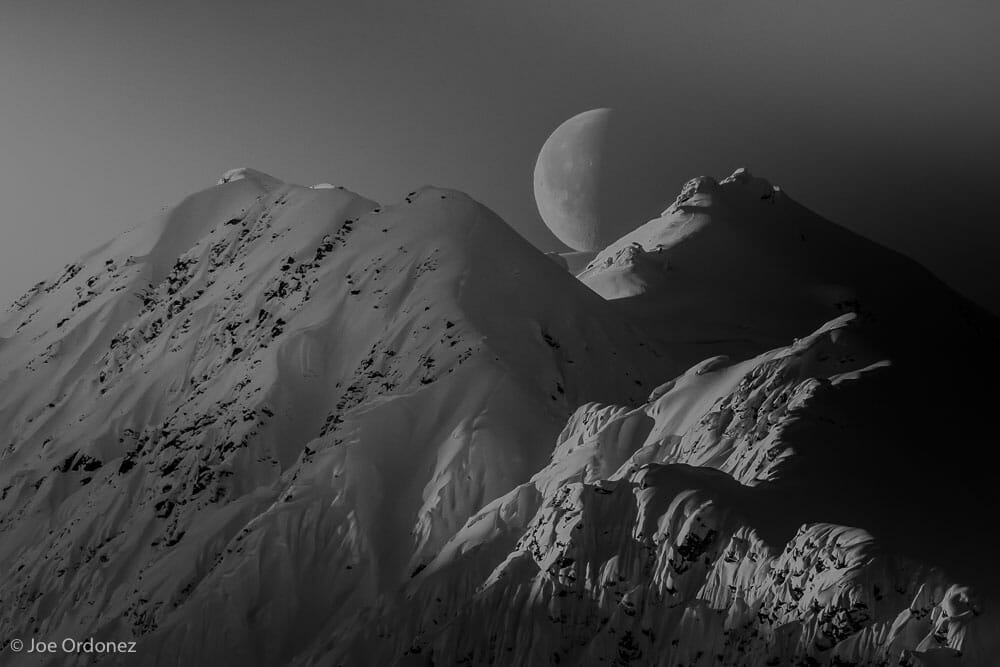 Moon above Klehini